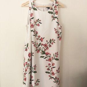Ann Taylor Floral Tank Dress